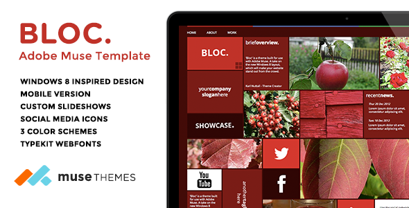Bloc - Mosaic Muse Template