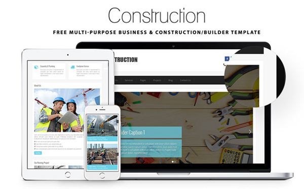 Construction – Multi-Purpose Construction Template