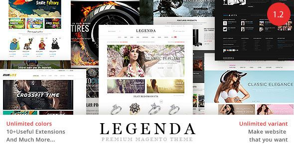 Legenda - Fluid Responsive Magento Theme