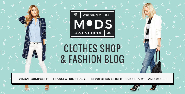 Mods – Clothes Shop & Fashion Blog