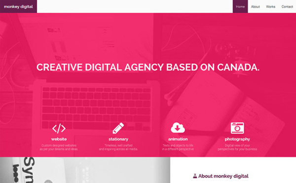 Monkey Digital – Agency Theme