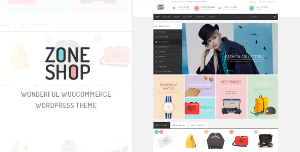 ZoneShop – Wonderful Responsive WooCommerce Theme