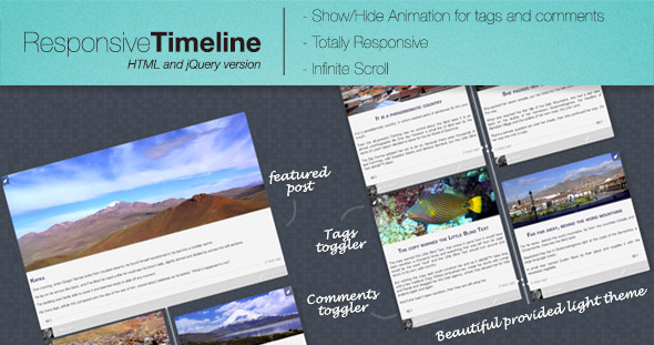 Responsive jQuery Timeline