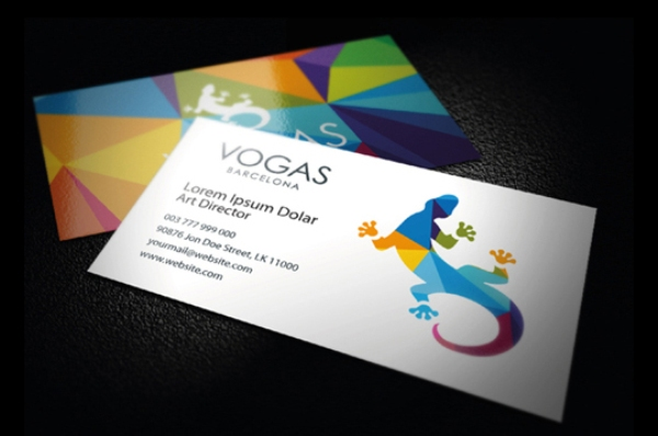 Business Card Vogas Barcelona