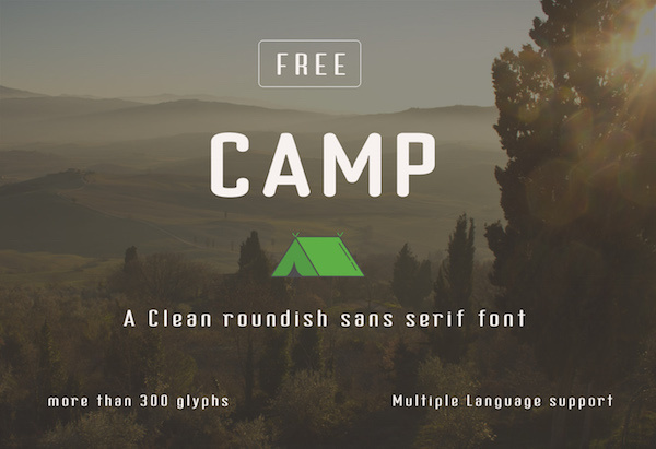 Camp Typeface (Free)