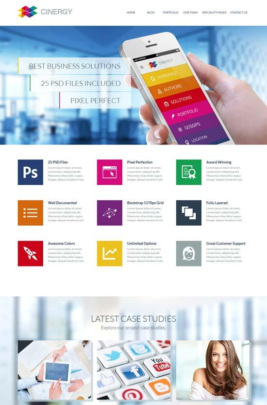 Cinergy – Modern Business HTML Template