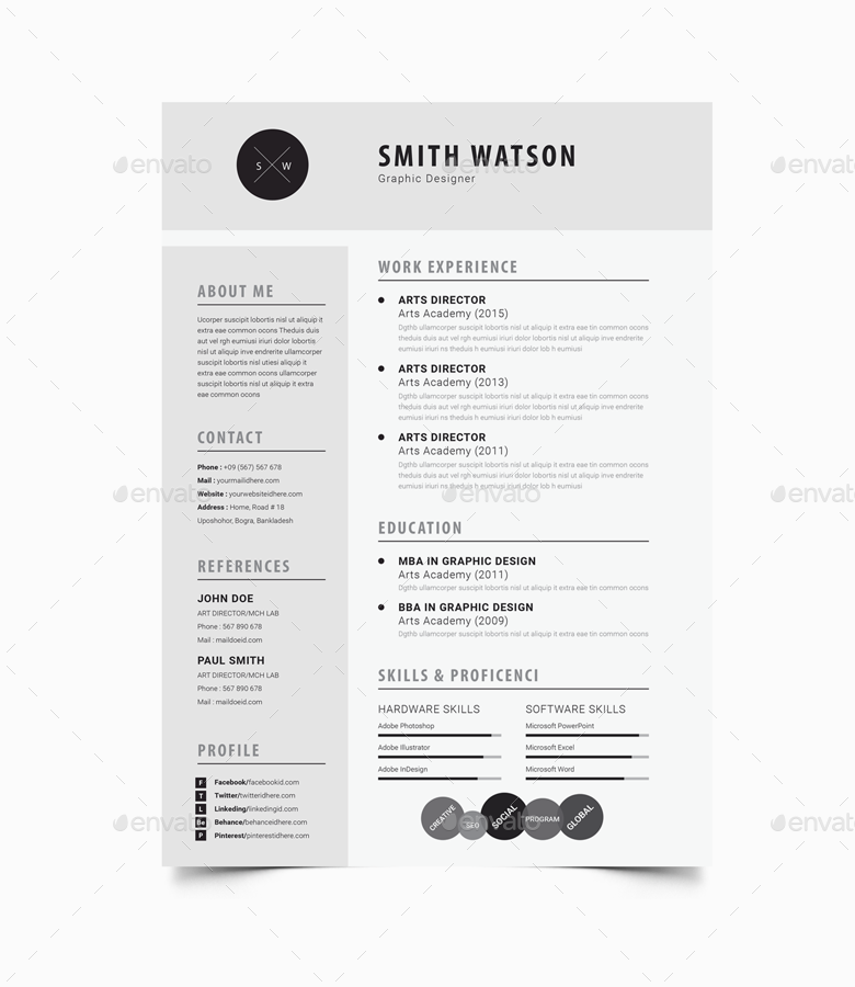 Watsons The Resume