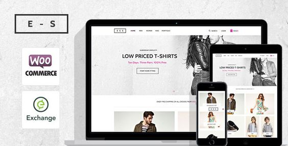 Exchange Shop - Responsive WordPress Shop Theme