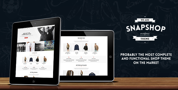 Snapshop - Responsive WooCommerce WordPress Theme - Enhance Your Shop Website