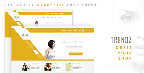 Trendz - WooCommerce Shopping WordPress Theme