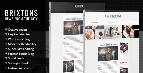 Trimmer - WordPress Theme for Barber Shops