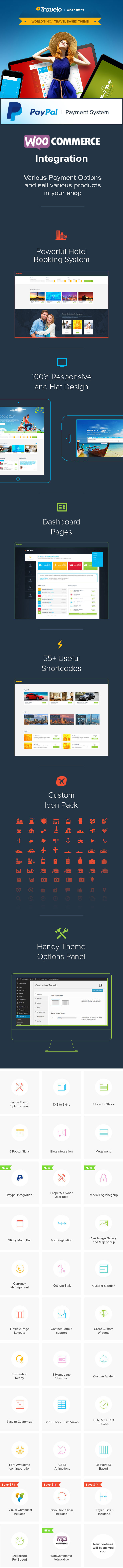 Travelo - Travel-Tour Booking WordPress Theme