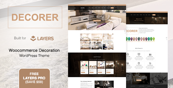 Decorer - Woocommerce Layers WordPress Theme
