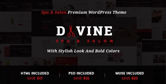Divine - Salon & Spa WordPress Theme