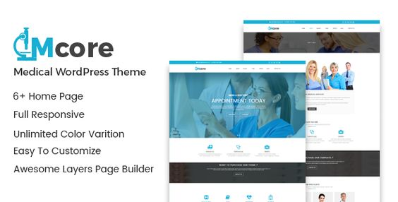 Medicore - Medical WordPress Theme