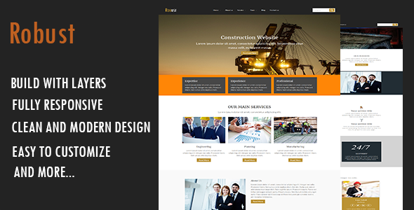 Robust-Construction WordPress Theme