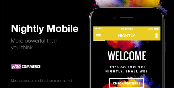 Nightly Mobile - The Ultimate Mobile Theme