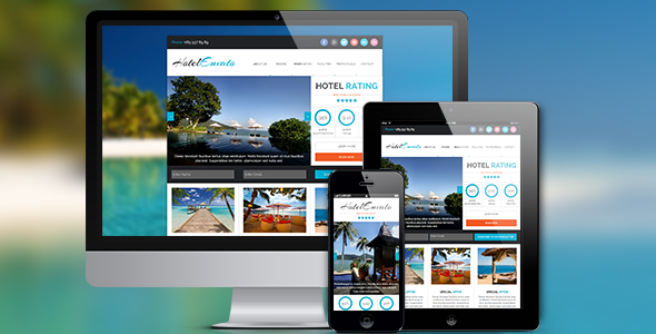 Hotel / Resort / Travel Agency Muse Theme