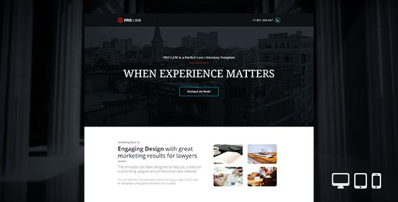 PRO Law - Adobe Muse Template