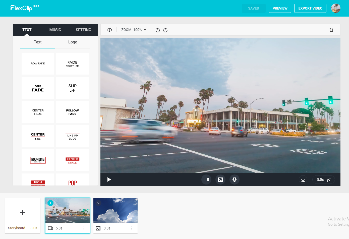 FlexClip: an Intuitive and Free Video Maker Online